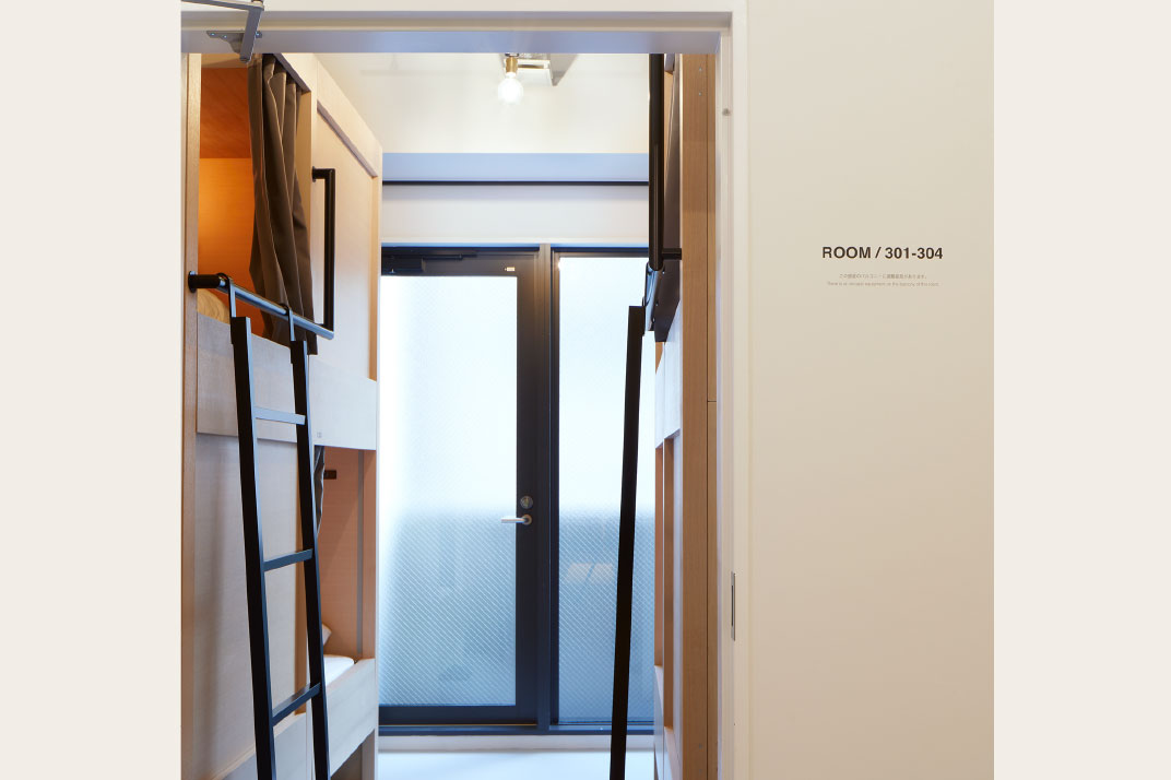 4-Bed Male/Female Group Dormitory Room